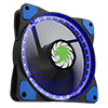 View more info on Game Max Vortex Blue Ring & 32 LED 12cm Cooling Fan With Hydraulic Bearings...