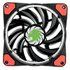 Game Max Vortex Red Ring & 32 LED 12cm Cooling Fan With Hydraulic Bearings - Alternative image