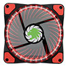 View more info on Game Max Vortex Red Ring & 32 LED 12cm Cooling Fan With Hydraulic Bearings...