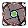 View more info on Game Max Vortex RGB 12cm Fan LED & Ring Lighting 16.8 Million Colours...