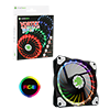 View more info on Game Max Vortex RGB 12cm Fan LED & Ring Lighting 4pin RGB Connector...