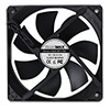 Game Max Windforce Black 12cm Cooling Fan 3 & 4 Pin Connector - Alternative image