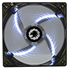 View more info on Game Max Windforce 4 x White  LED 12cm Cooling Fan...