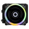 Game Max Iceberg 120mm Water Cooling System with 7 Colour PWM Fans  - Alternative image
