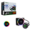 GameMax Iceberg 120mm Water Cooling System with 7 Colour PWM Fans  - Alternative image