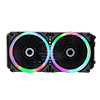 Game Max Iceberg 240mm Water Cooling System with 7 Colour PWM Fans - Alternative image