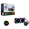 View more info on Game Max Iceberg 240mm Water Cooling System with 7 Colour PWM Fans...