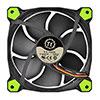 Thermaltake Riing12 Led Green 120mm Fan - Alternative image