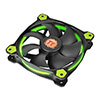 View more info on Thermaltake Riing12 Led Green 120mm Fan...
