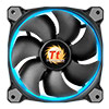 Thermaltake Riing12 Led RGB Fan 256 Colour 120mm with Fan Switch 3 Pack - Alternative image