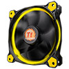 Thermaltake Riing12 Led Yellow 120mm Fan - Alternative image