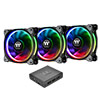 View more info on Thermaltake Riing Plus RGB 14cm PWM Fans Premium 3 Pack Software Control...