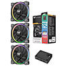 View more info on Thermaltake Riing12 LED RGB Premium Edition 120mm Fan 3 Pack...