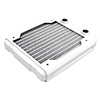 Black Ice  Nemesis GTS 120 Radiator - White - Alternative image