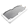 Black Ice  Nemesis GTS 240 Radiator - White - Alternative image