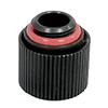 Liquid Cool  13 10mm Matt Black Compression Fitting G1 4 Straight - Alternative image