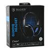 Sades  SA-711 Chopper Blue PC Stereo Gaming Headset - Alternative image