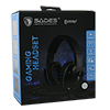 Sades  SA-923 Hammer Gaming Headset Blue Virtual 7.1 Surround Sound 50mm Driver - Alternative image