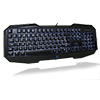 Aula  Killing The Shadow Black 3 Colour Keyboard & 7 Colour Mouse Gaming Combo - Alternative image