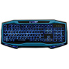 Game Max Raptor Keyboard Mouse Headset Mouse Mat Kit In Blue - Alternative image