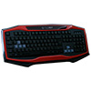 Game Max Raptor Keyboard Mouse Headset Mouse Mat Kit In Red - Alternative image
