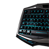 Game Max Raptor RGB Keyboard & Mouse Black Headset & Mouse Mat - Alternative image