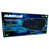 Game Max Hurricane Illuminated Gaming Keyboard 3 Colour LED - Alternative image