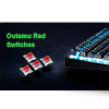 GameMax Strike Mechanical RGB Outemu Red Switch - Alternative image