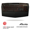 Gigabyte K8100 Aivia World Wide 1st Gaming Keystroke Keyboard - Alternative image