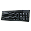 Builder Italian USB Keyboard & Mouse Combo Set Black - Alternative image