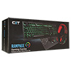 CiT Rampage Keyboard Mouse & Headset Combo - Alternative image