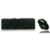 View more info on CiT Storm Black Green Backlit Keyboard and Mouse kit with Green LED White Boxed...