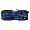 Powercool KB-768 V2 LED USB Gaming Keyboard Green/Red/Blue Backlit M/M Functions - Alternative image