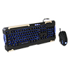 View more info on Thermaltake E-Sports Commander Keyboard & Mouse Combo Led Backlit Keyboard Black...