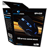 Powercool GM001 Gaming Mouse . Blue Led USB . 1.5M Braided Cable - Alternative image