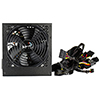 Aerocool Integrator 500W PSU 12cm Black Fan Active PFC Bulk Packed With x 2 PCIe ETA. 30th of November - Alternative image