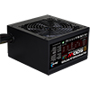 Aerocool Integrator 500W RGB PSU 12cm Black Fan Active PFC TW Caps UK Cable - Alternative image