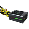 Game Max GM 1350W Mining 80 Plus Gold PSU 14cm Fan - Alternative image