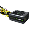 GameMax GM 1650W Gaming  80 Plus Gold PSU 14cm Fan - Alternative image