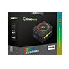 GameMax 550W Modular RGB Gold 80 Plus 14cm RGB Fan & Illuminated Logo - Alternative image