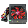 ACE 550W BR Black PSU with 12cm Red Fan & PFC - Alternative image