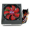 ACE 600W BR Black ATX Power Supply with a Silent 120mm Red Fan & PFC - Alternative image