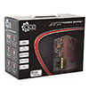 ACE 850w Black PSU 12cm Red Fan PFC - Alternative image