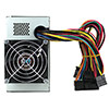CiT ATX 400w Dual Fan CE 8cm I/O x2Server length cables  Sata x 2 - Alternative image
