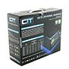CiT 400W HE Black Edition PSU 12cm Single Rail CE PFC Model 400HE  - Alternative image