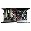 CiT 500W Active 85 80+ Bronze Certified Builder PSU EuP Lot 6 Ready 12cm Black Fan White Boxed - Alternative image