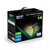 CiT 500W Gold Edition PSU 12cm 24-Pin SATA Model 500U - Alternative image