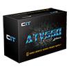 CiT 550W ATV PSU 12CM Fan Full Range Input 1x FDD 4x Sata Retail Boxed - Alternative image