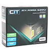 CiT 600W Gold Edition PSU 12cm 24-Pin SATA Model 600U - Alternative image