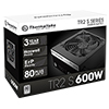 Thermaltake TR2 S Series 600W Power Supply 80 Plus Certified Active PFC - Alternative image